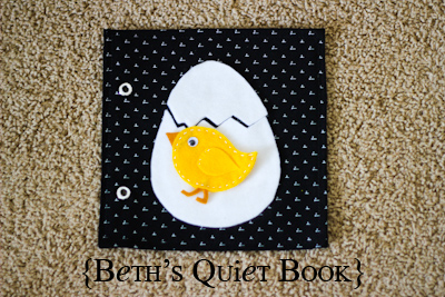 Beth S Adorable Felt Book For Baby The Crafting Chicks