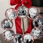 {Family Photo Wreath-Valentine's Day Style}