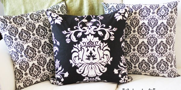 {Easy Decorative Pillow Slipcovers}