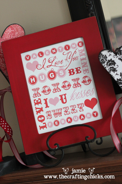 {Valentine's Day Word Art and Notecards + Free Downloads!}