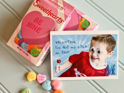 {Silly & Simple Valentine Cards}