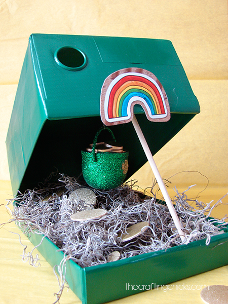 How to make leprechaun traps - St. Patrick's Day crafts