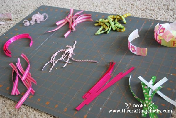 ribbons cut