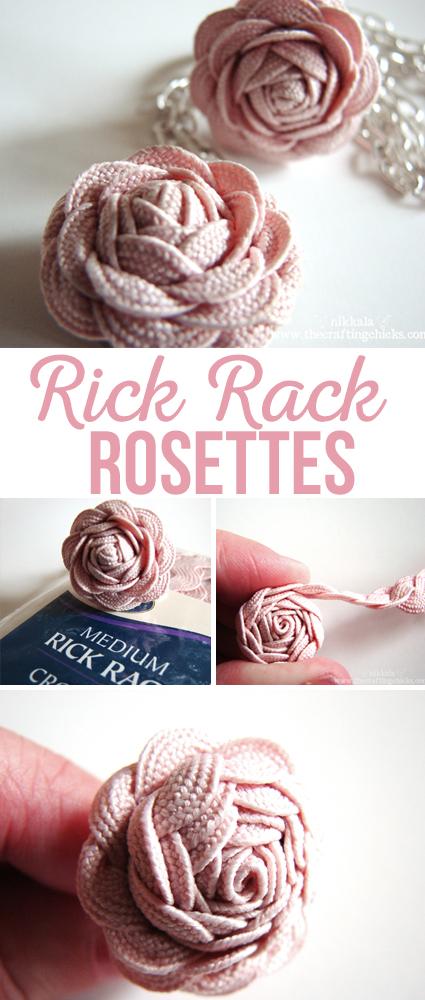 Rick Rack Rosettes