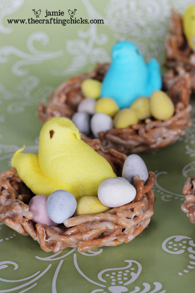 Chow Mein Bird Nests - A favorite Easter treat!