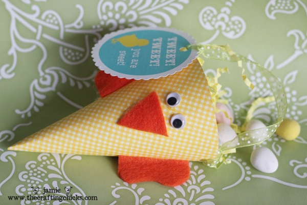 easter crafts for kids: cone-shaped and bunny basket tutorial