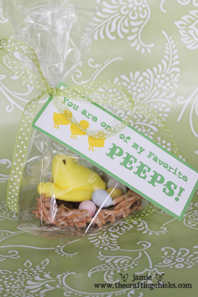 "Some""bunny"" Loves You - Easter Treat Tag Free Printable"