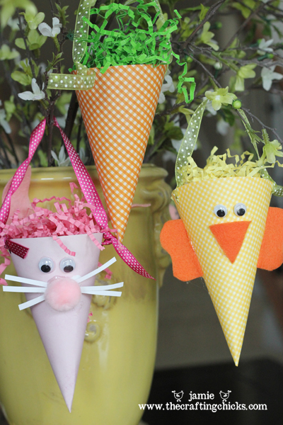 Easter Treat Cones