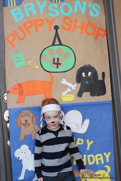 {Puppy Shop Party!}