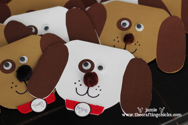 Puppy Shop Party The Crafting Chicks – Puppy Party Invitation