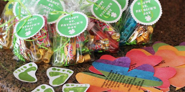 {Leprechaun Treasure Details + Free St. Patrick's Day Tags}