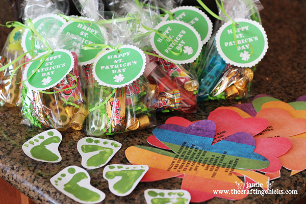 photo regarding Leprechaun Feet Printable called Leprechaun Treasure Data + Free of charge St. Patricks Working day Tags