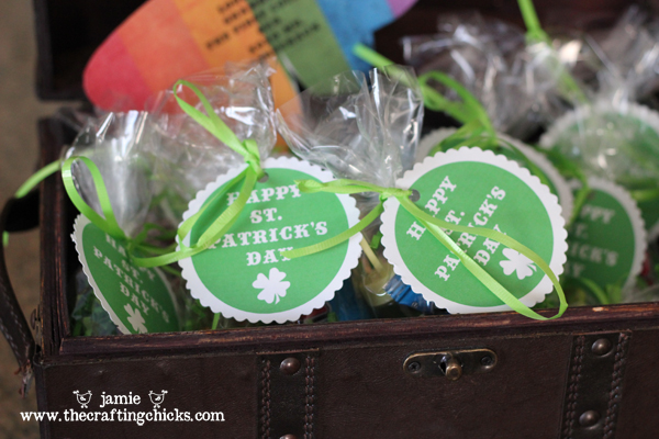 Leprechaun Treasure Hunt Printable Gift Tags
