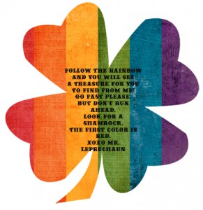 sm treasure hunt shamrock 1