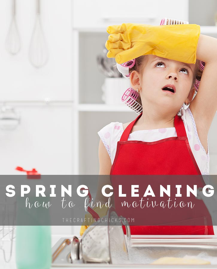 How to find motivation to Spring Clean
