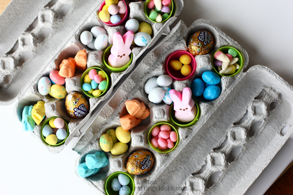 Easter Treat Cartons - A simple, yummy gift!