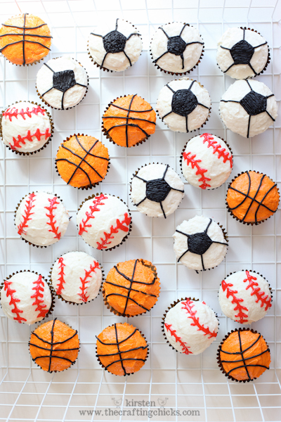 Sports birthday party the crafting chicks for Basketball craft party ideas