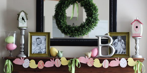 {Easter Garland and Easy Decor Ideas}