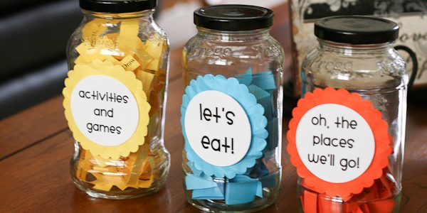 Summer Activity Jars and Grab Bags {Free Printables}