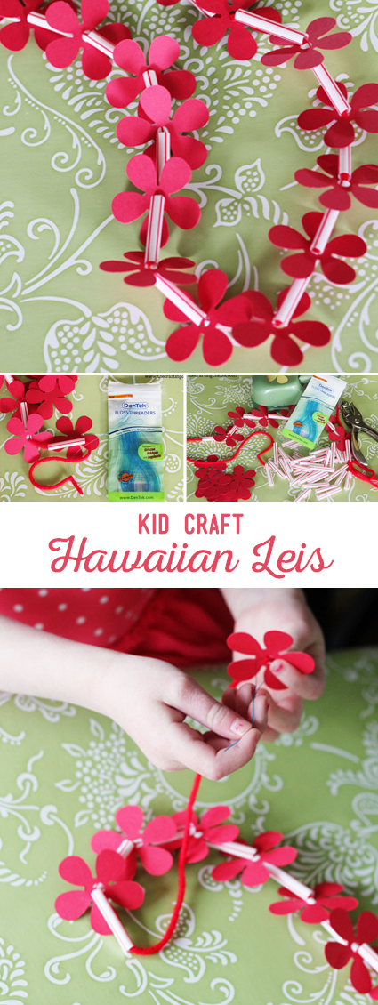 Hawaiian Lei Kid Craft
