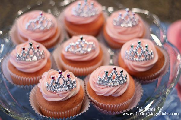 Cupcake Decorating Ideas Princess : {Cinderella Party-