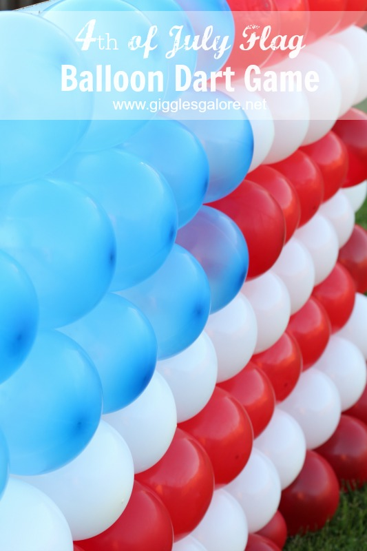 4th of July Flag Balloon Dart Game | Kids activity | Family Party