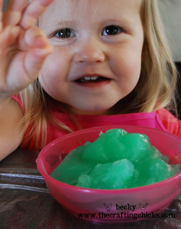Ellie with Slime