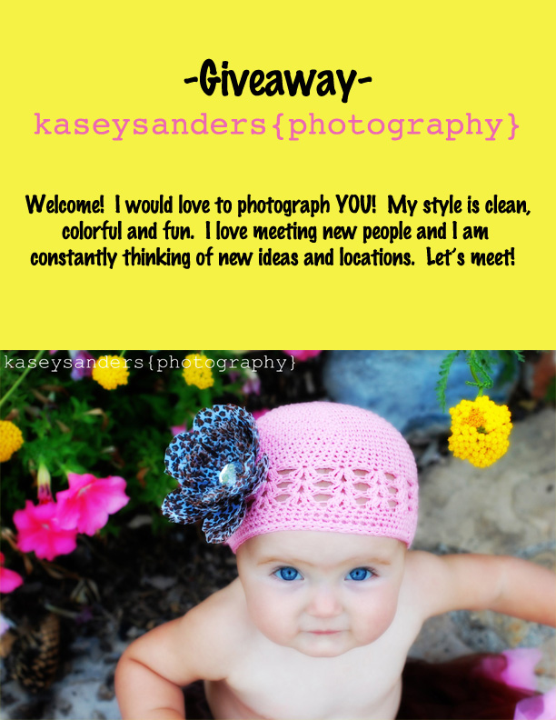 Kasey Sanders Photography {Giveaway}