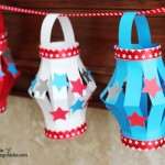 {Paper Lantern Kid's Craft***4th of July Style}