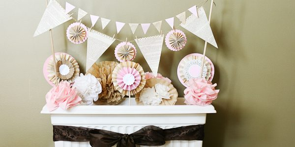 Tea Party decorations {vintage garden theme}