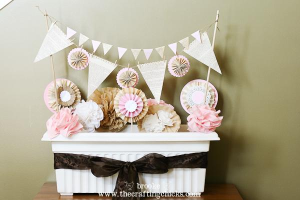 Tea Party decorations {vintage garden theme}