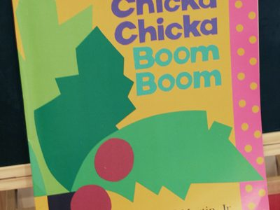 {Chicka Chicka Boom Boom-ABC Kid's Craft}