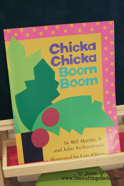 Chicka Chicka Boom Boom - ABC Kids Craft