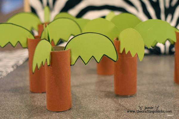 Как сделать пальмы из картона
