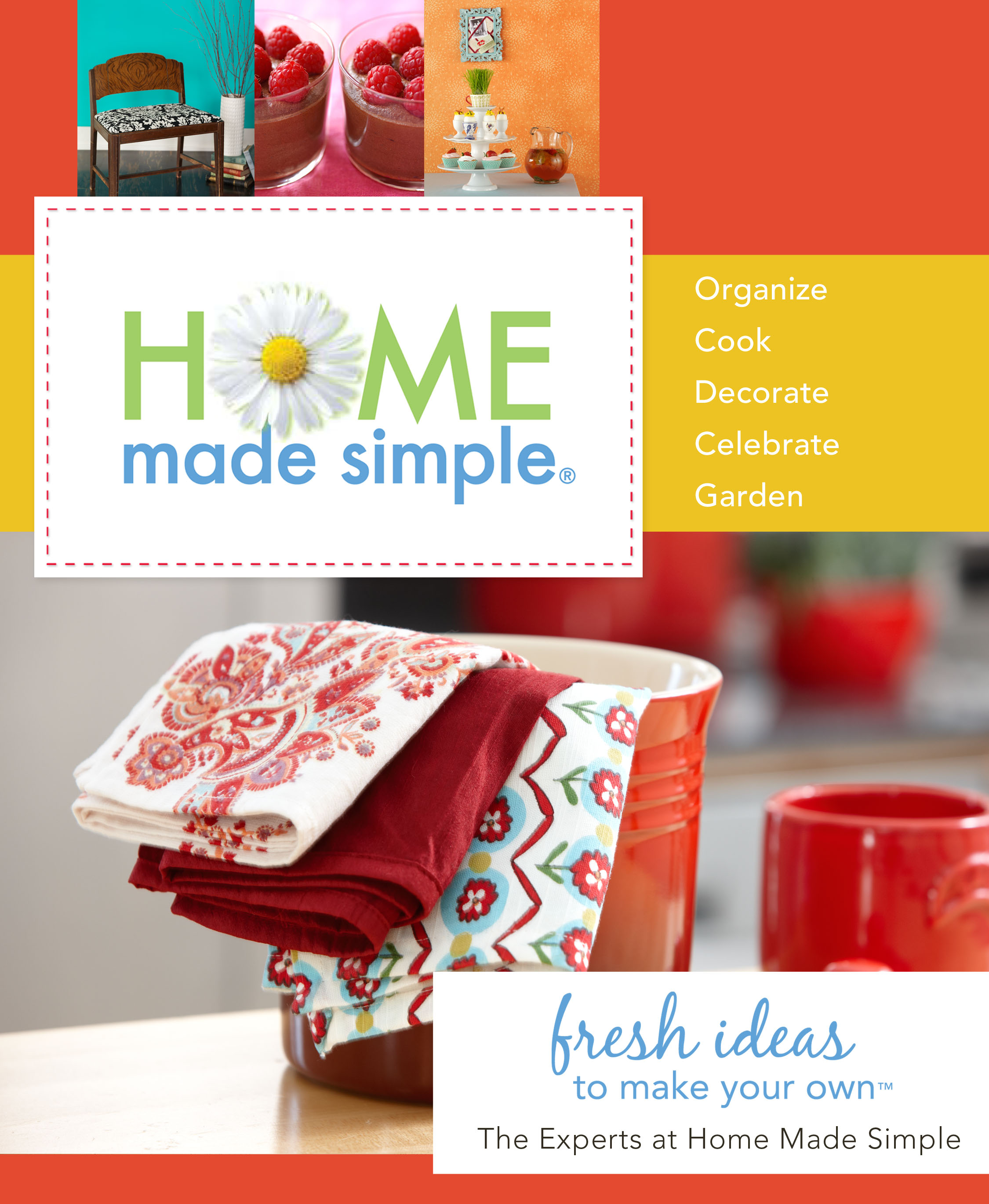 Home made simple winner the crafting chicks for Home made simple crafts