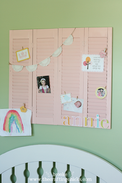 pink shutters display