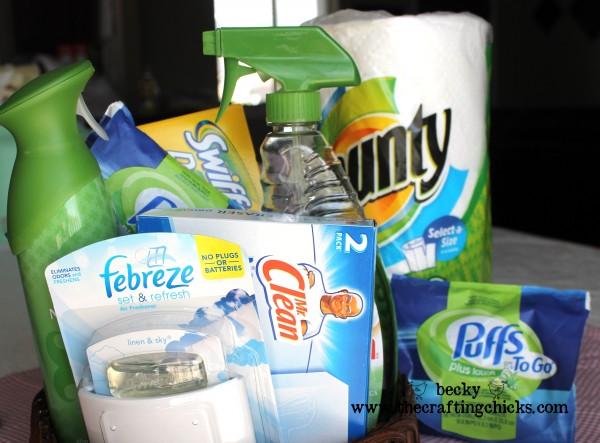 Teacher Gift Ideas:: Cleaning Supplies