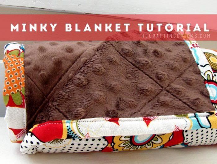 Easy Minky Baby Blanket
