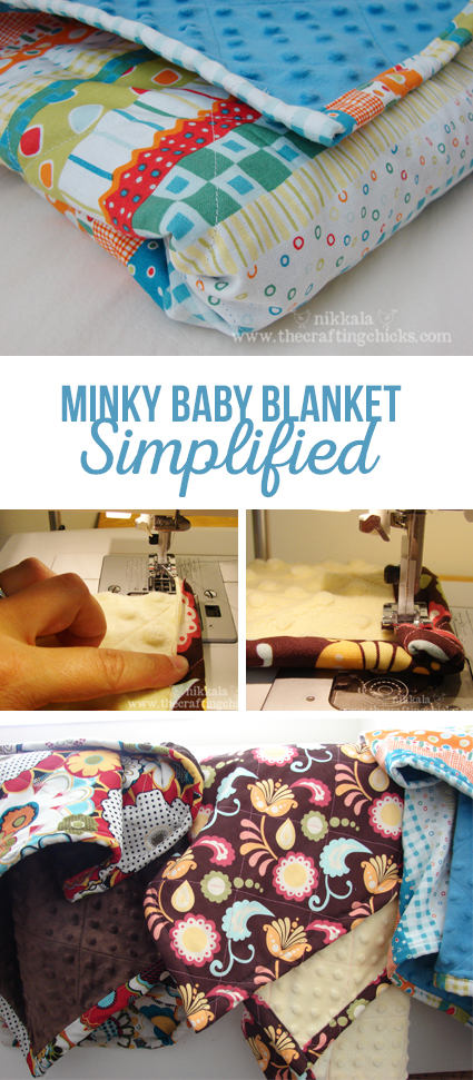 Minky Baby Blanket Easy