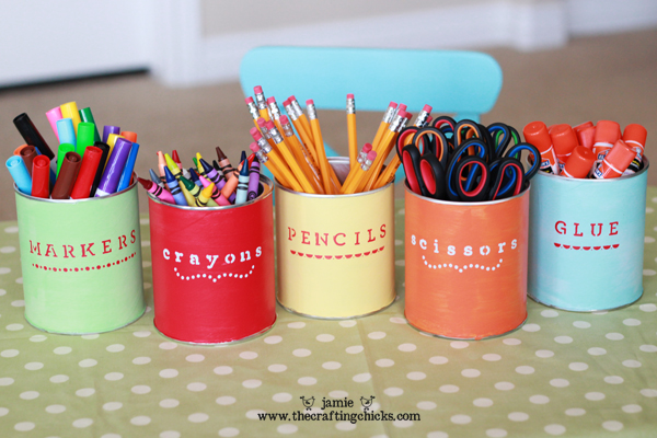 15 Great DIY Back to School Ideas