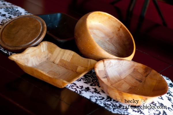 Bowls for Pedestal bowls