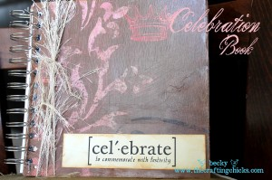 Celebration Cinch Book
