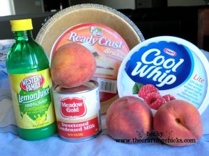Peachy Keen Ingredients