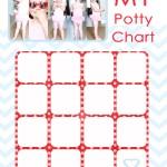 Stylish Potty Training Chart & SIMPLE methods **Free Printable**