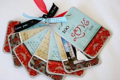 Handmade 100 Things I Love Book