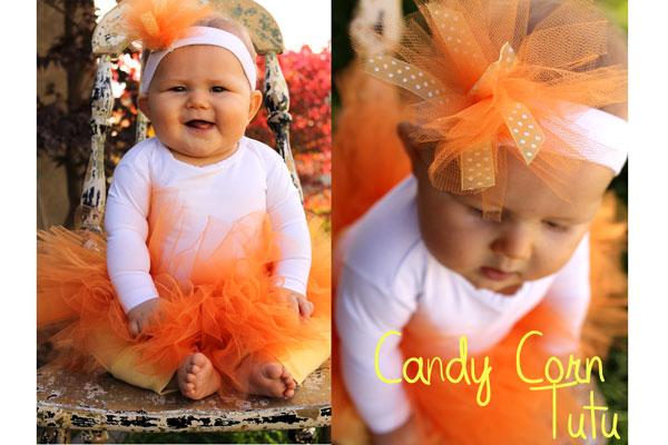 Candy Corn Tutu Costume