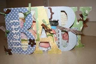 DIY Baby Photo Album