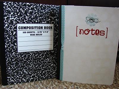 Notebook Makeover