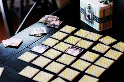DIY Photo Memory Game