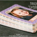 "Family Photo ""Go Fish"" Game {gift idea}"